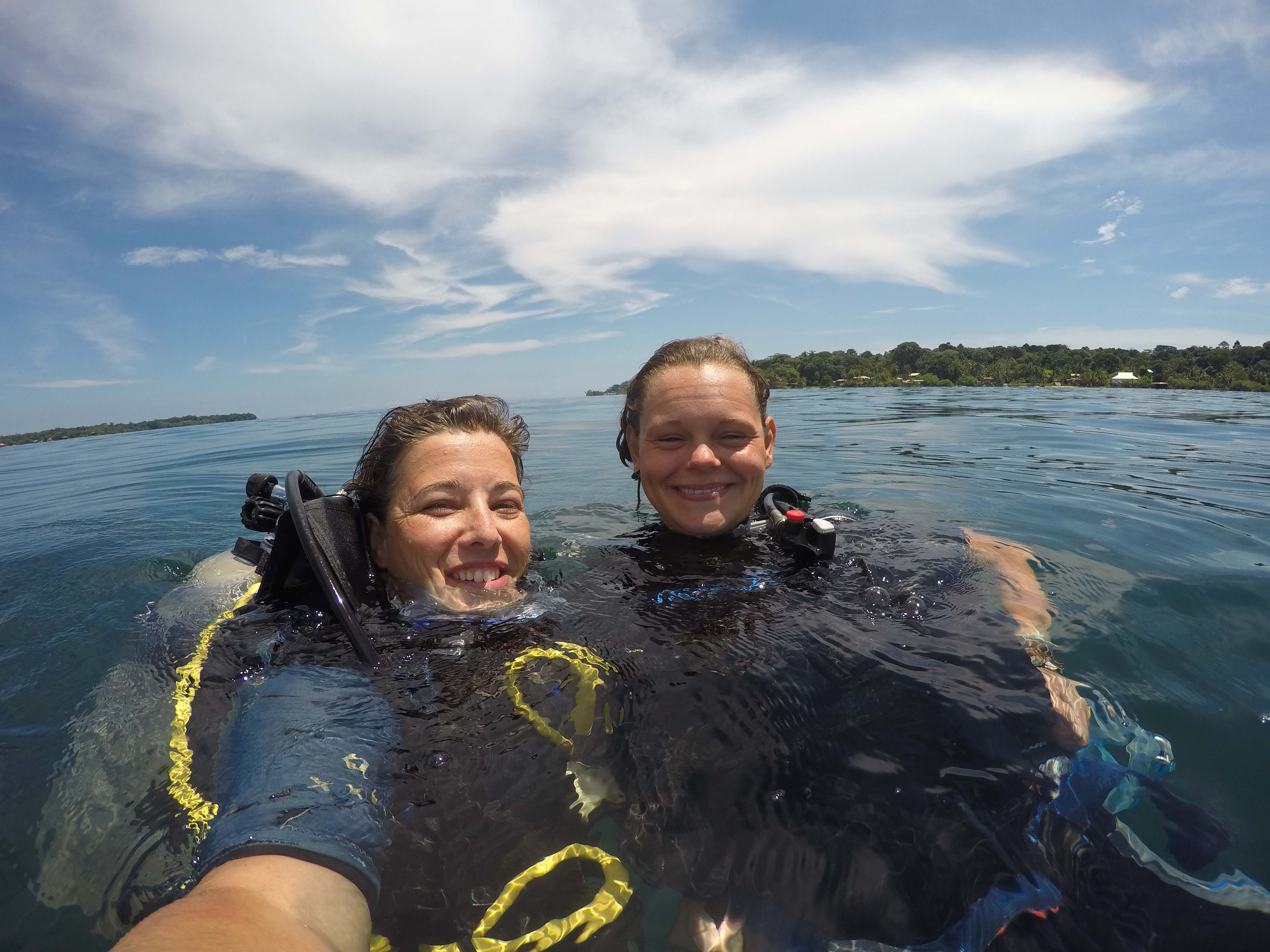 PANAMA: Tauchen mit Marie