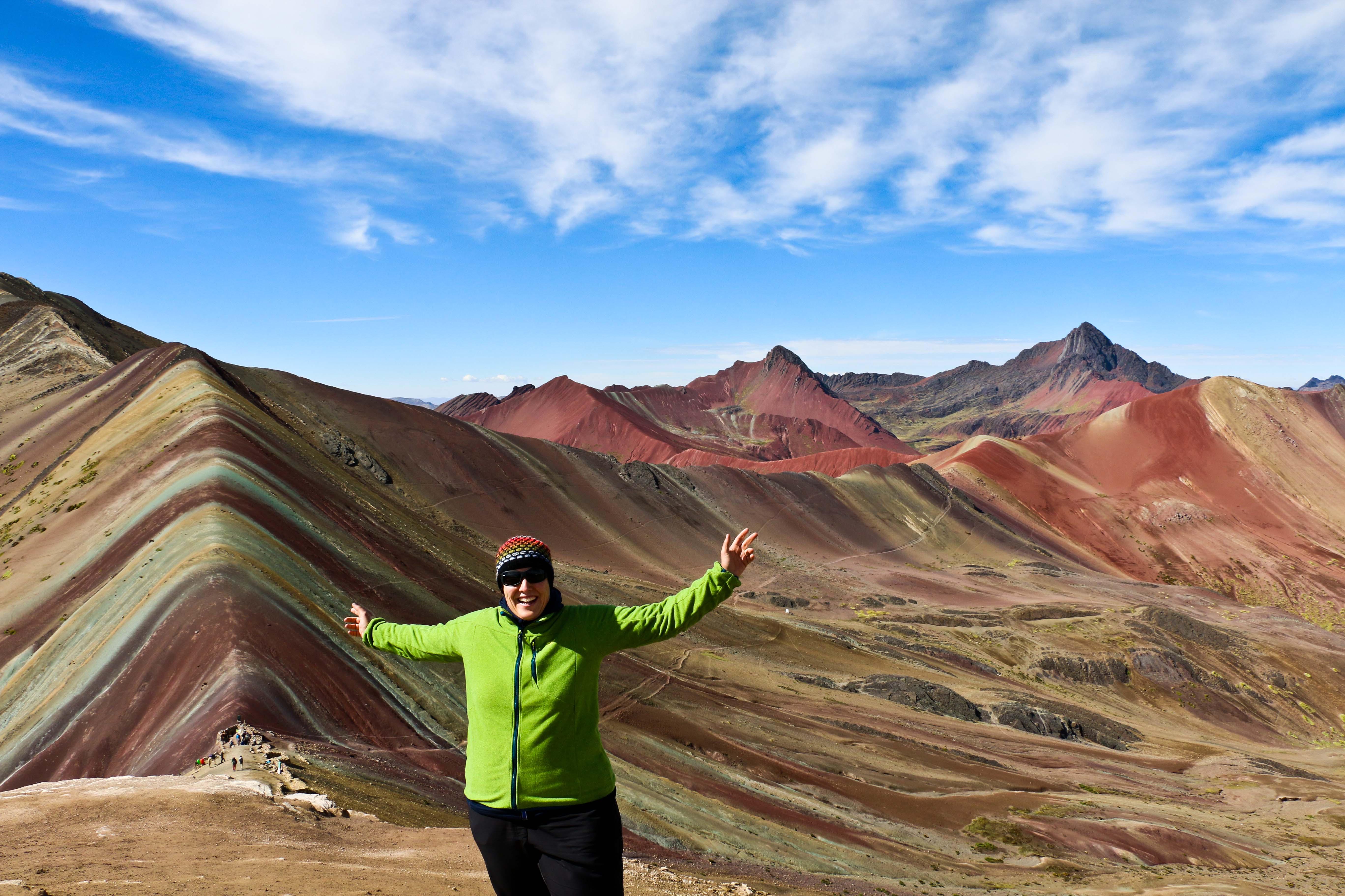 PERU: Rainbow Mountains