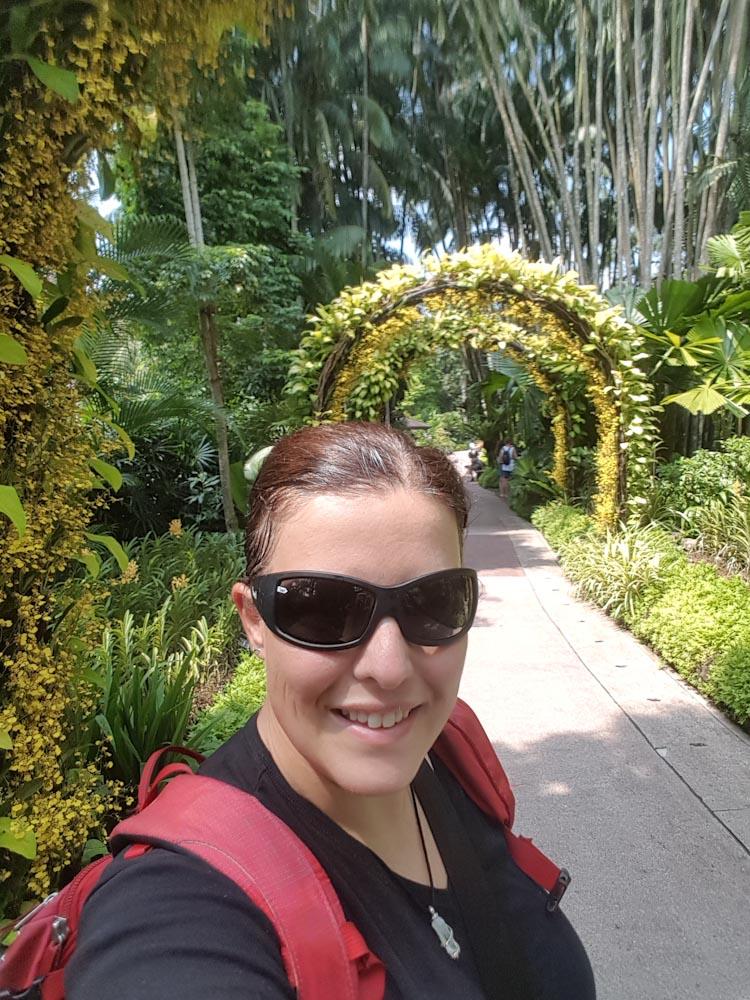 Singapore Botanischer-Orchideen Garten-14